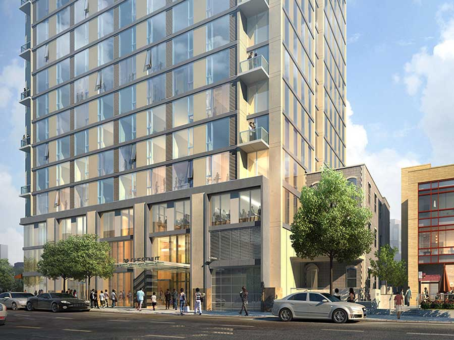Korman Residential at 3737 Chestnut building exterior