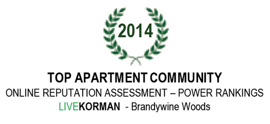Power Rankings Online Reputation Assessment Top Apartment Community Award 2014