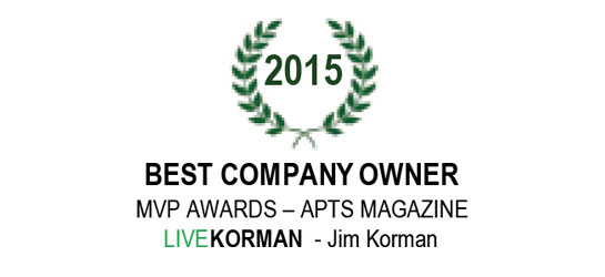 APTS Magazine MVP Awards Best Company Owner 2015