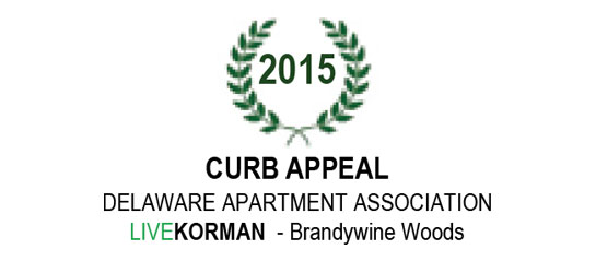 Delaware Apartment Association Curb Appeal Award 2015