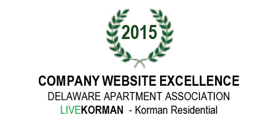 Delaware Apartment Association Company Website Excellence 2015