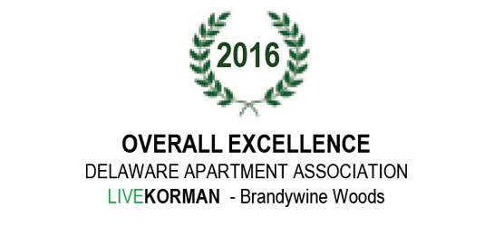 Delaware Apartment Association Overall Excellence 2016