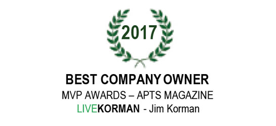 APTS Magazine MVP Awards Best Company Owner 2017