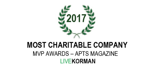 APTS Magazine MVP Awards Most Charitable Company 2017