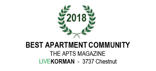 The APTS Magazine Best Apartment Community Award 2018