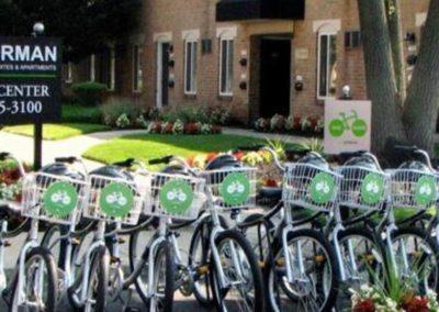 Korman bike share program